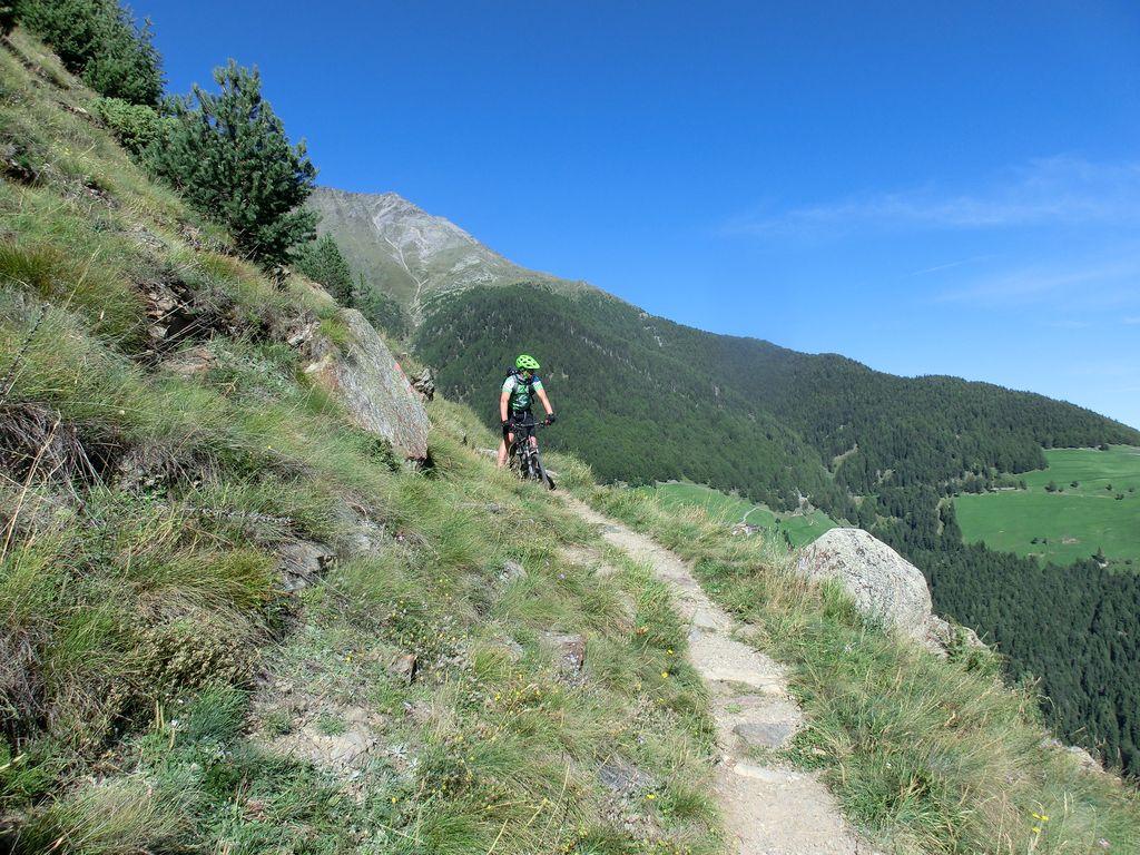 Panorama-Trail oberhalb Latsch