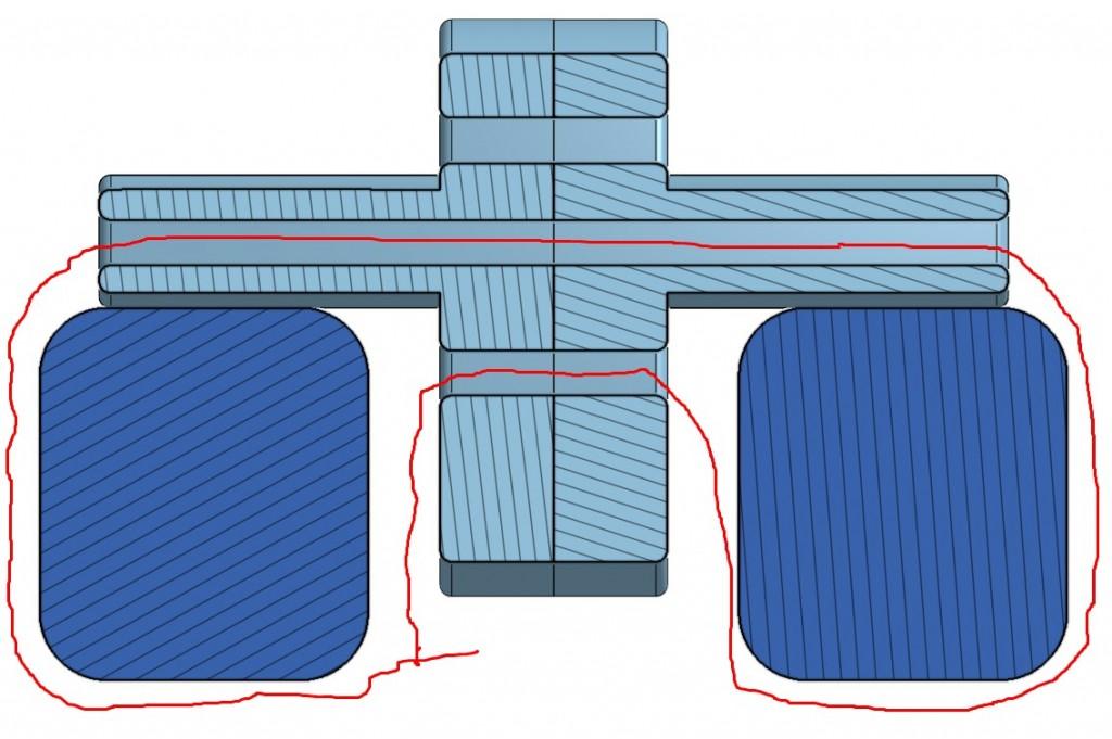 Kabelbinder-Verlauf