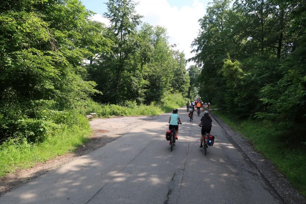 Sternfahrt -Römerstraße