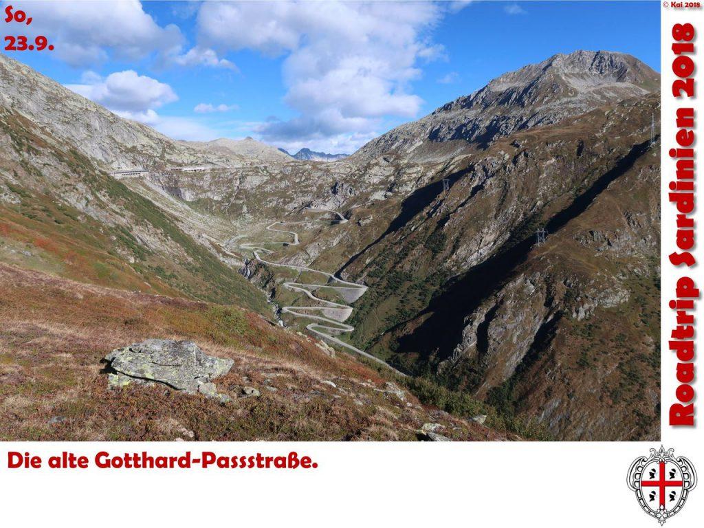Gotthard-Pass-Straße