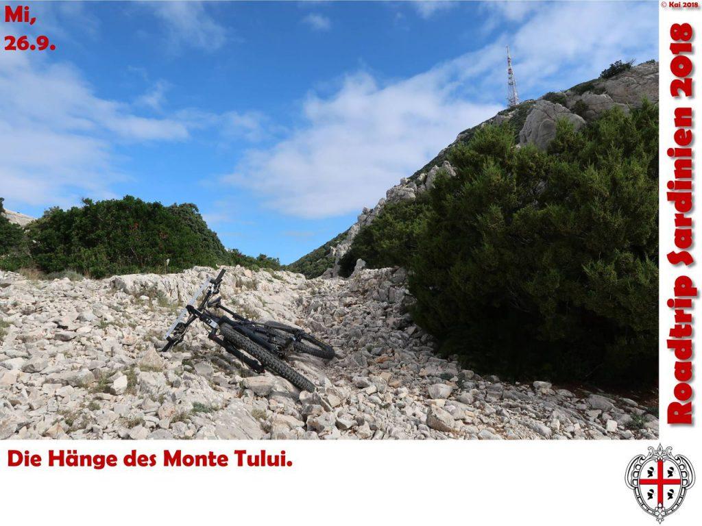 Unterhalb des Monte Tului