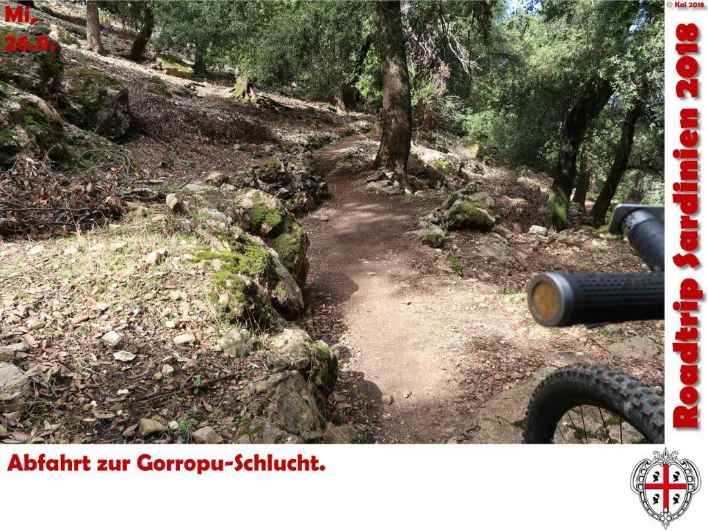 Abfahrt zur Gorropu-Schlucht