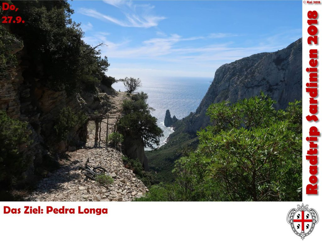 Im Steilhang der Punta Giradeli