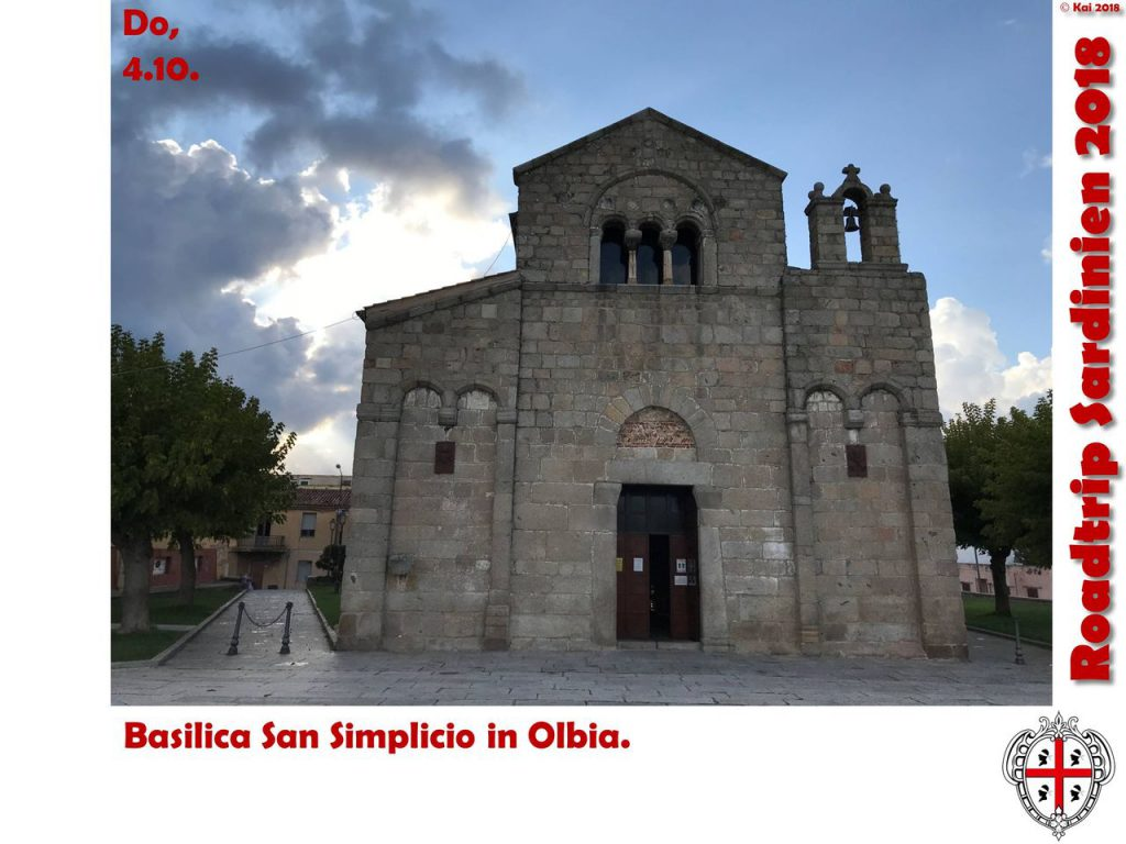 Basilica in Olbia