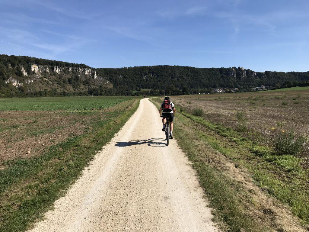 Rückweg auf dem Altmühl-Radweg