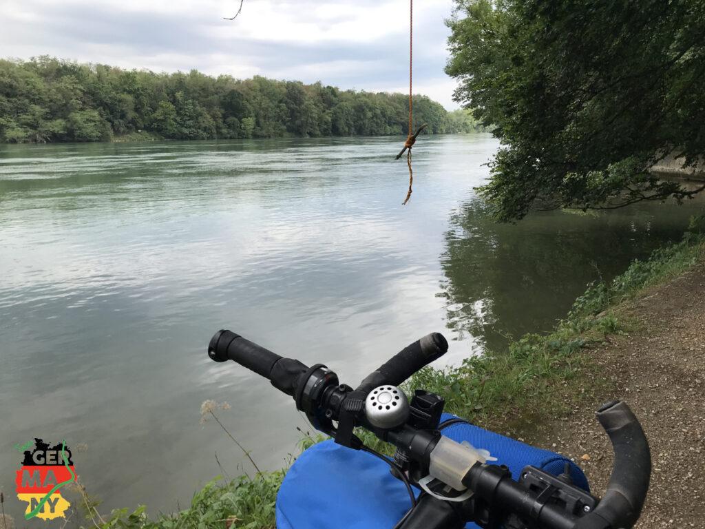 Endlich auf dem Rheinufer-Weg.