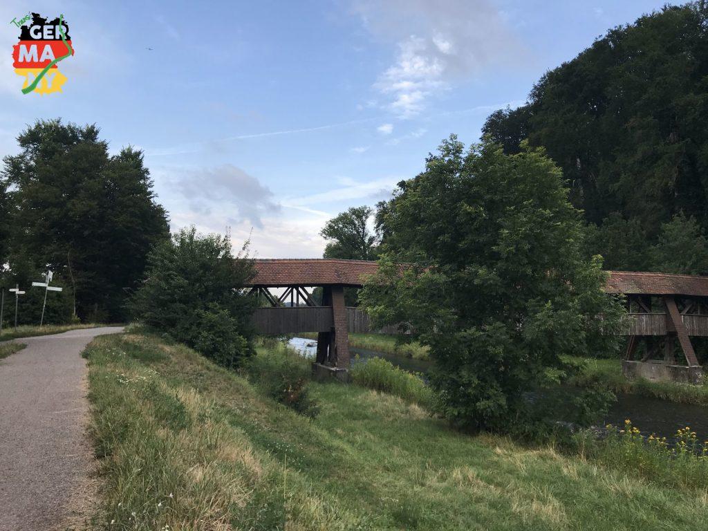 Entlang der Wutach aufwärts in den Schwarzwald.