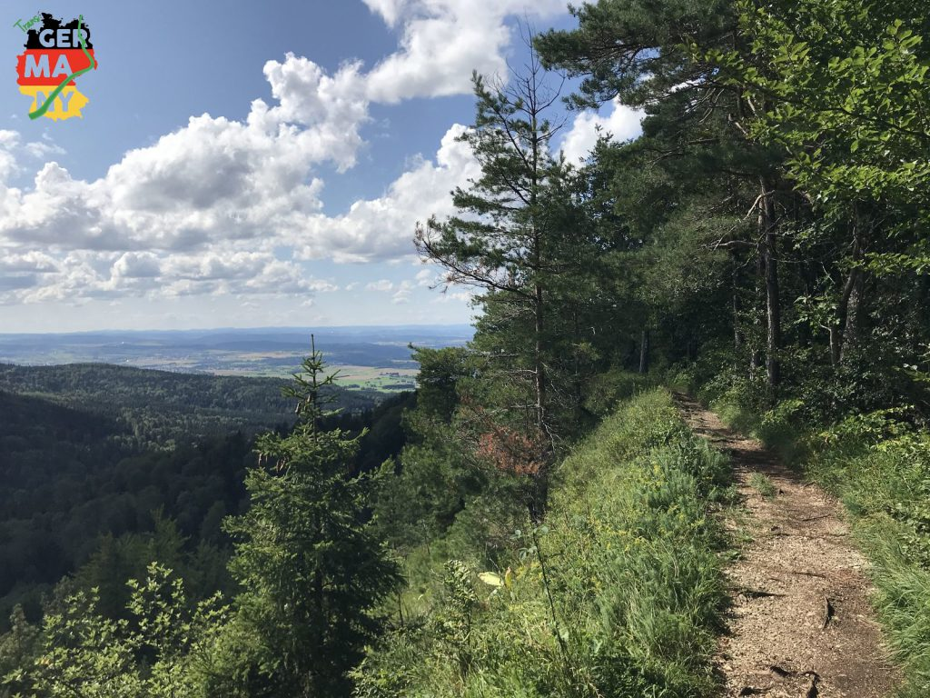 Traufgang zwischen Heiligenkopf und Blasenberg.
