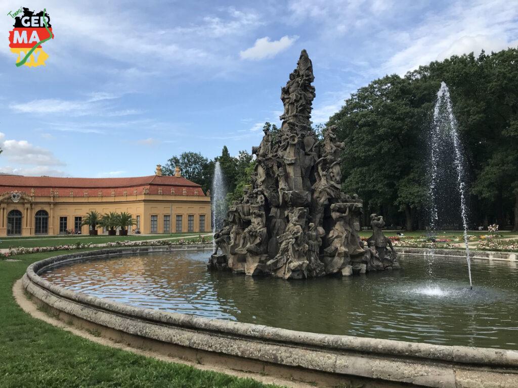 Schlossgarten in Erlangen.