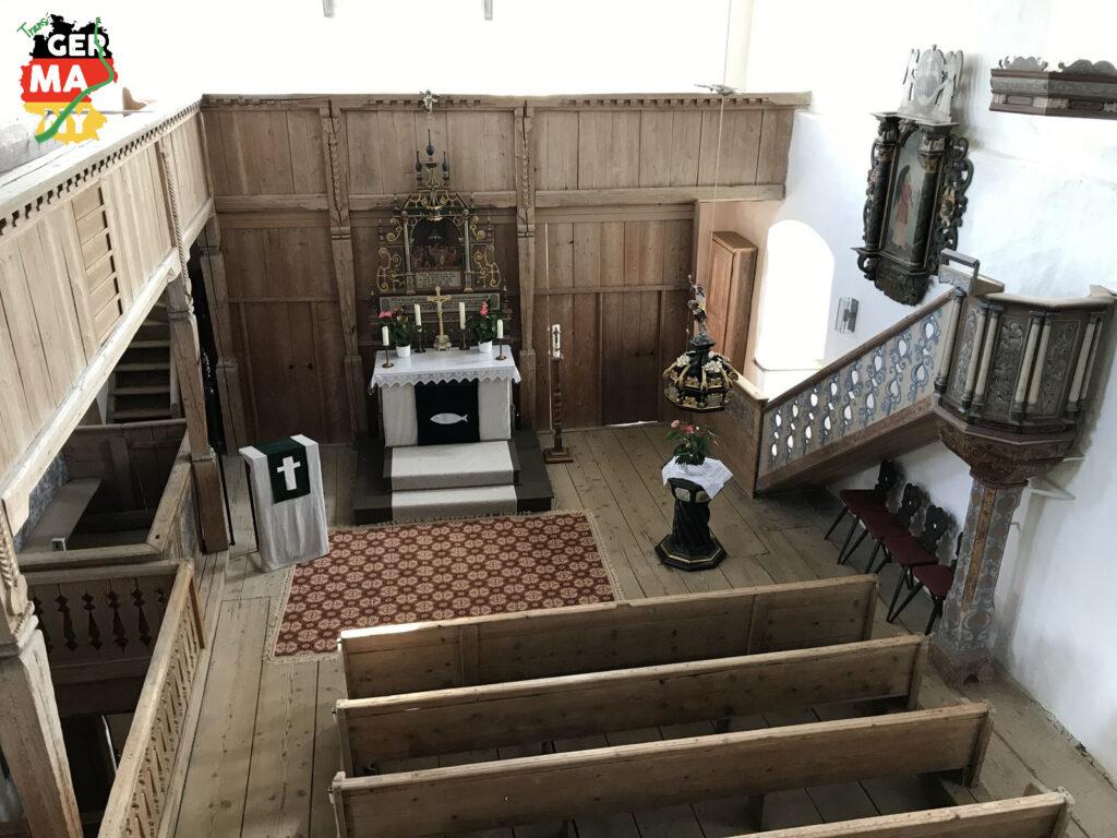Burgkapelle Stein. Ungeplante einstündige Privatführung durch 700 Jahre Geschichte der ehemaligen Burg.