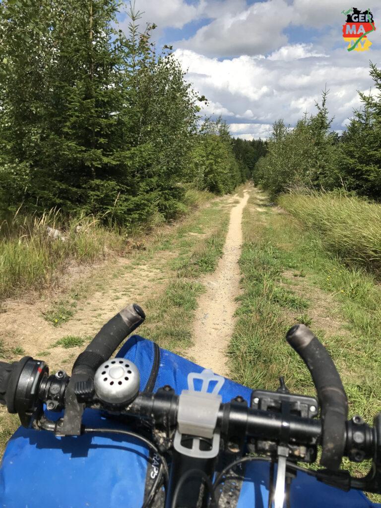 Nette Trails nach der Pause.