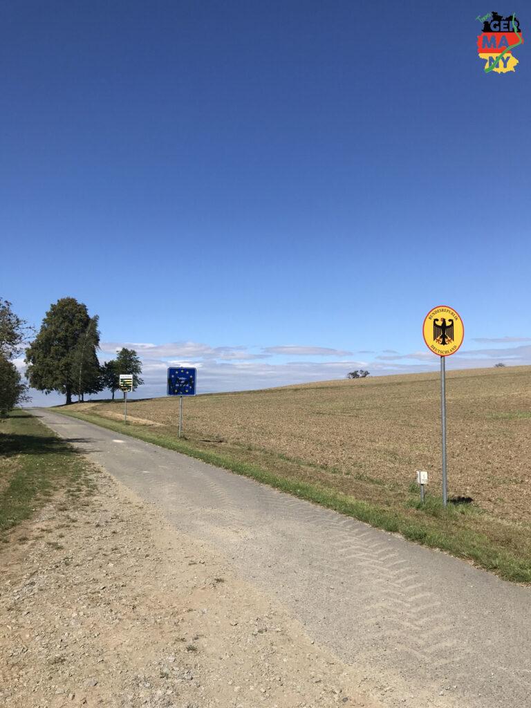 Pünktlich zur 1000km-Marke bin ich wieder in Tschechien, und die Sonne scheint.