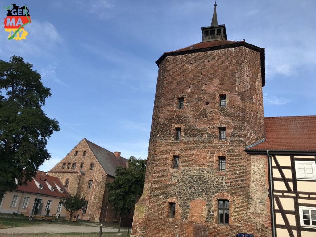 ... und Schloss in Beeskow.