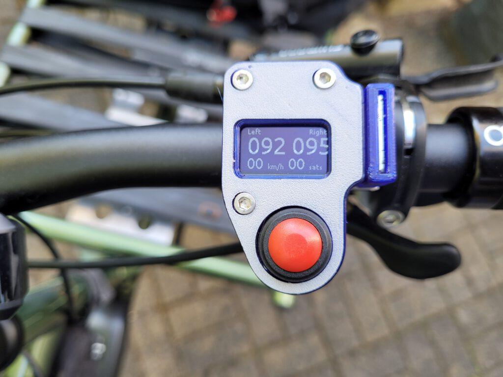 Open Bike Sensor - Display